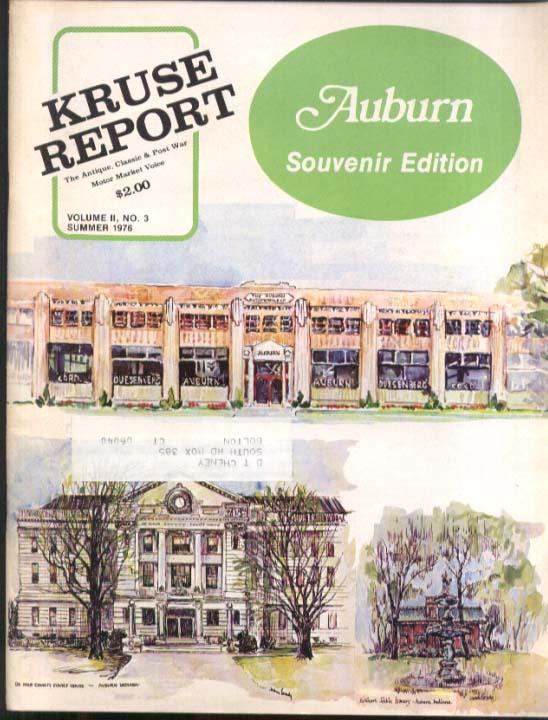 Kruse Report Auburn IN Souvenir Edition Summer 1976 Cord Duesenberg