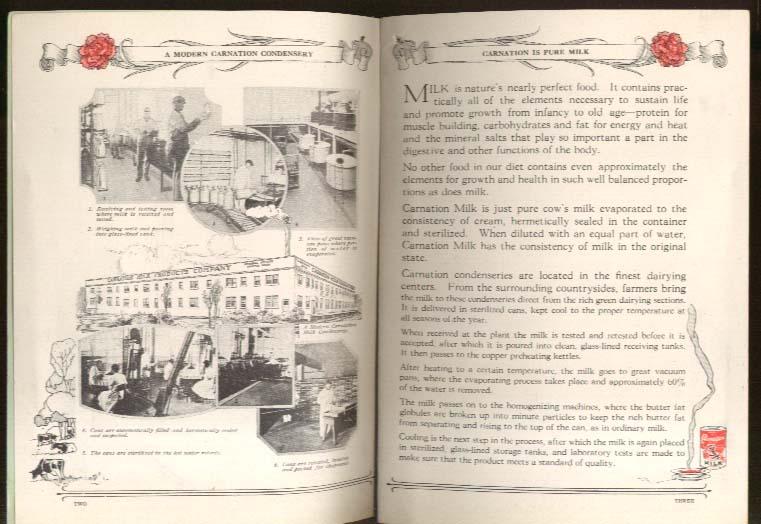 Carnation Milk One Hundred Tested Recipes 1921 booklet