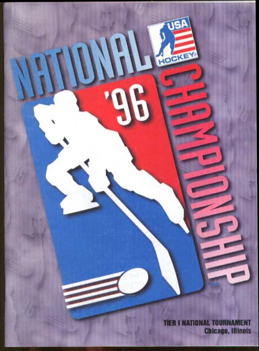 USA Hockey National Championship Program Tier I Chicago 1996