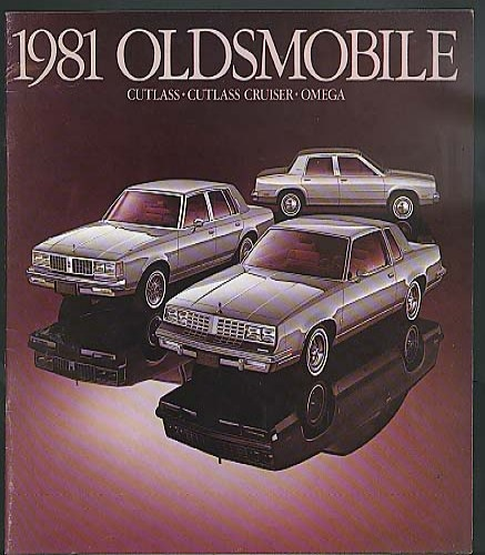 1981 Oldsmobile Cutlass & Cruiser & Omega SportOmega & SX sales brochure