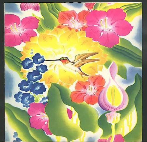 Moore-McCormack Lines S S Brazil Dinner Menu 11/23 1952 hummingbird motif