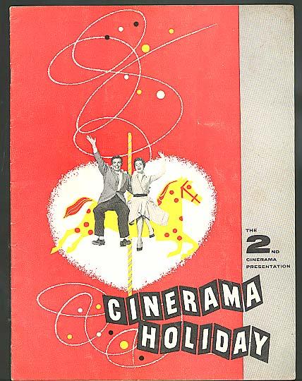 Cinerama Holiday souvenir program 1955