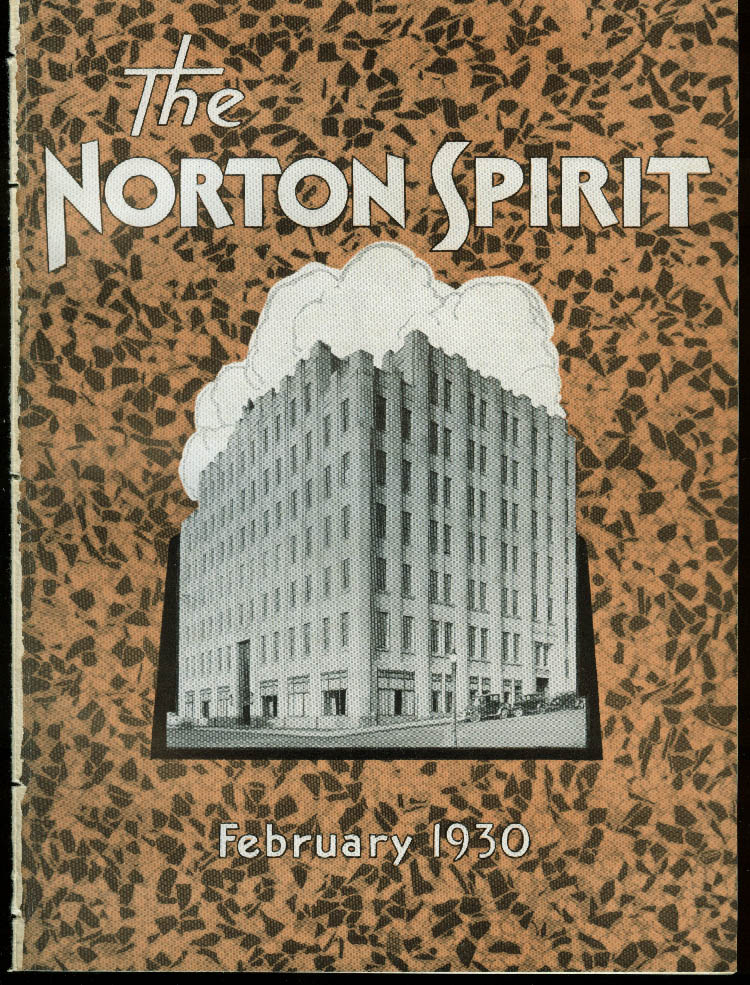 The Norton Spirit Worcester MA Norton Abrasives employee news 2 1930