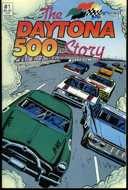The Daytona 500 Story Vortex Comics Daytona Special #1 1991