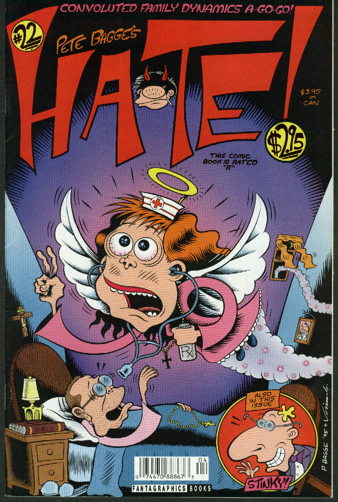 Pete Bagge's HATE Comic Book #22 1996