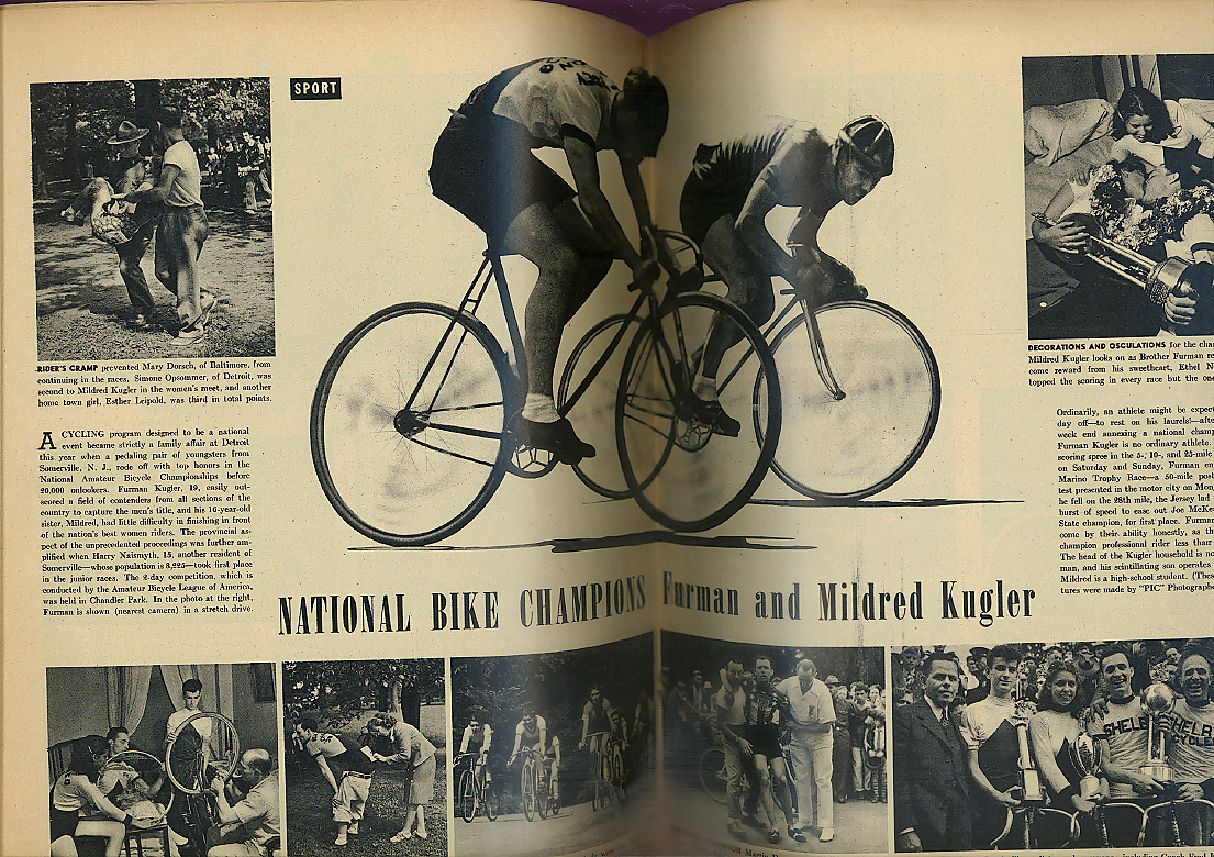 Rome-Berlin Axis Hot Chinatown Bike Champs Kuglers KY Snake Cult PIC 1/7 1938