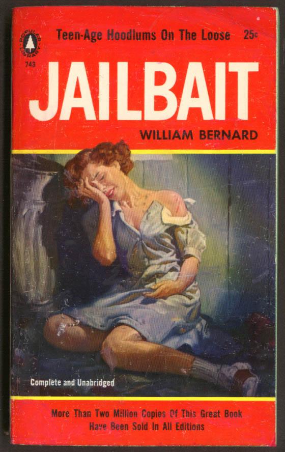 William Bernard: Jailbaot GGA pb girl torn dress crying ashcan