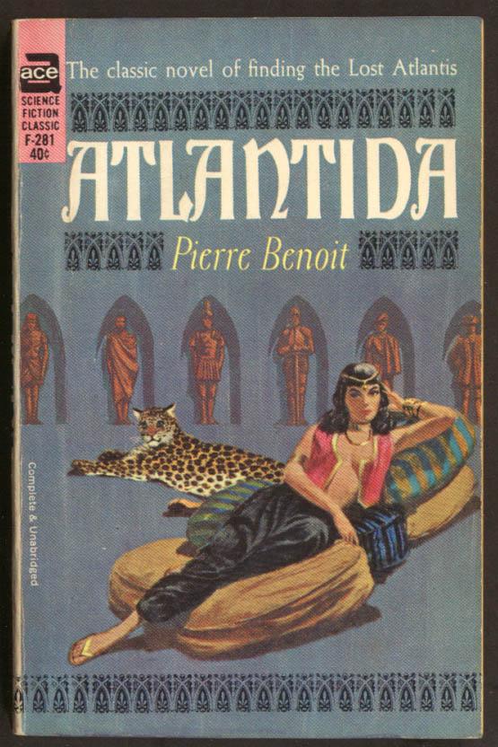 Pierre Benoit: Atlantida GGA pb harem girl cleavage leopard pillows