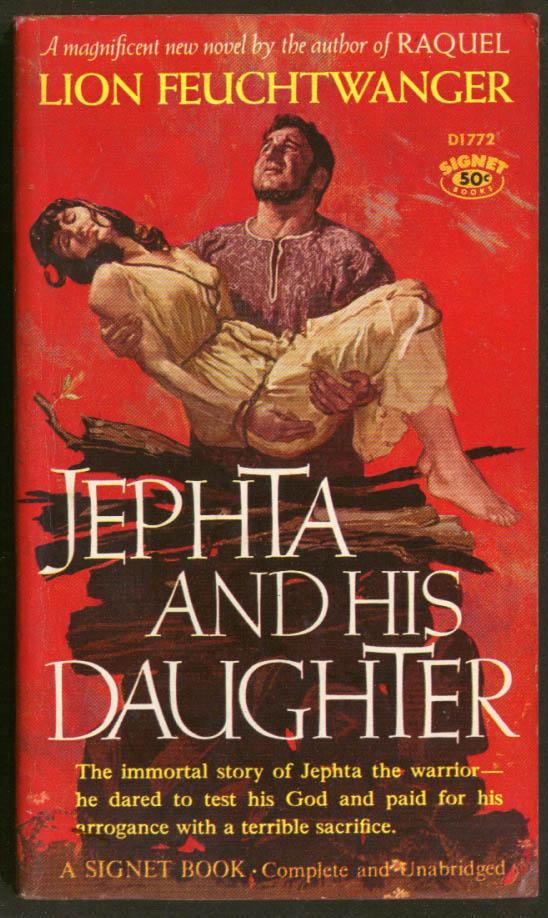 Lion Feuchtwanger: Jephta & His Daughter GGA pb man carries tied up woman