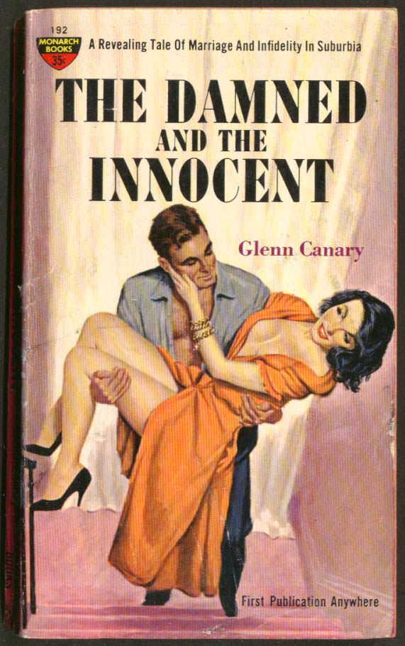 Glenn Canary: The Damned & the Innocent GGA PBO guy carries gal cleavage heels