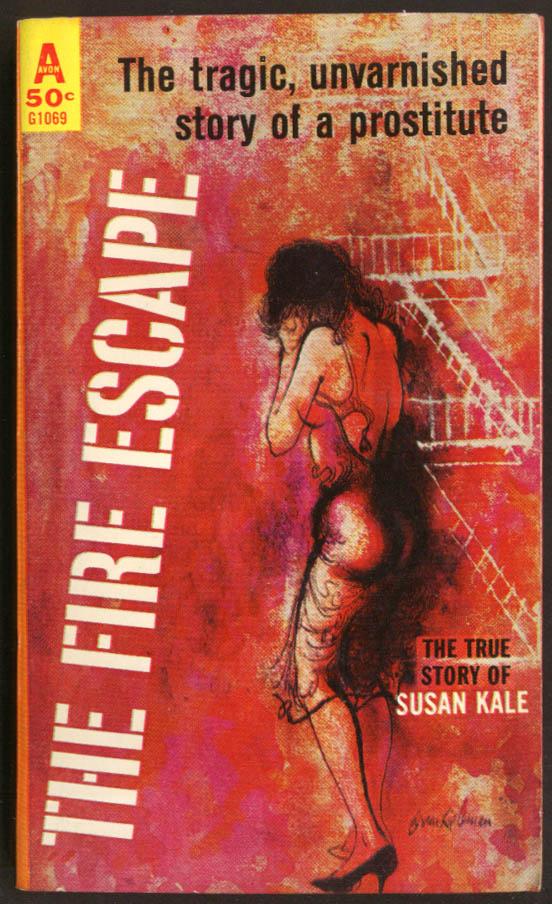Susan Kale: The Fire Escaps GGA pb bra unsnapped fearful prostitute