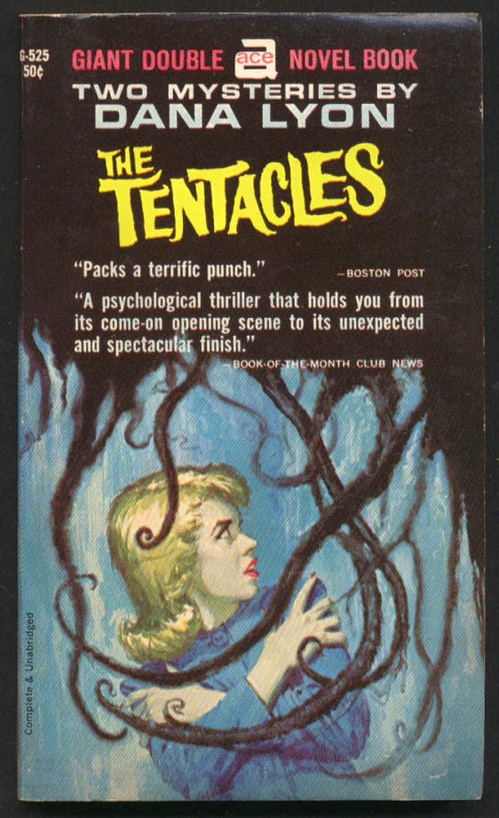 Dana Lyon: The Tentacles /  Spin the Web Tight Ace Double noir GGA pb blondes