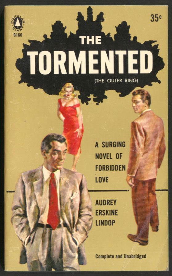 Audrey Erskine Lindop: The Tormented GGA pb blonde red dress 2 men