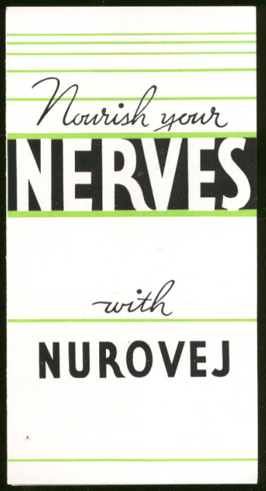 Nourish Your Nerves with Nurovej Anabolic Food Products folder 1930s