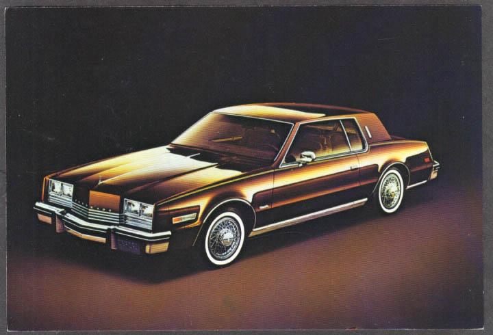 1980 Oldsmobile Toronado Brougham jumbo dealer postcard