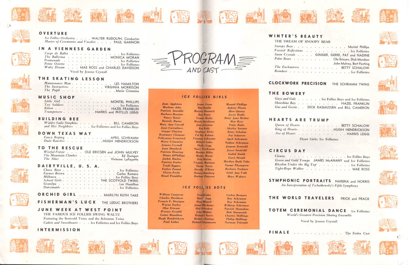 Shipstads & Johnson Ice Follies of 1950 Souvenir Program
