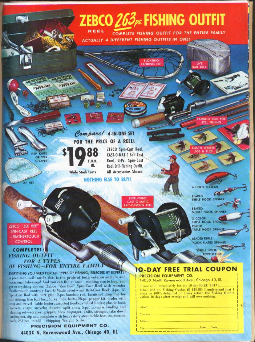 Meridian Corp New Equipment & Idea Manial 1962 electronics sporting goods +++