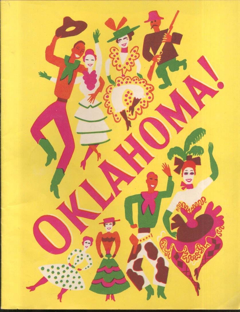 Oklahoma! Touring company souvenir program ca 1940s