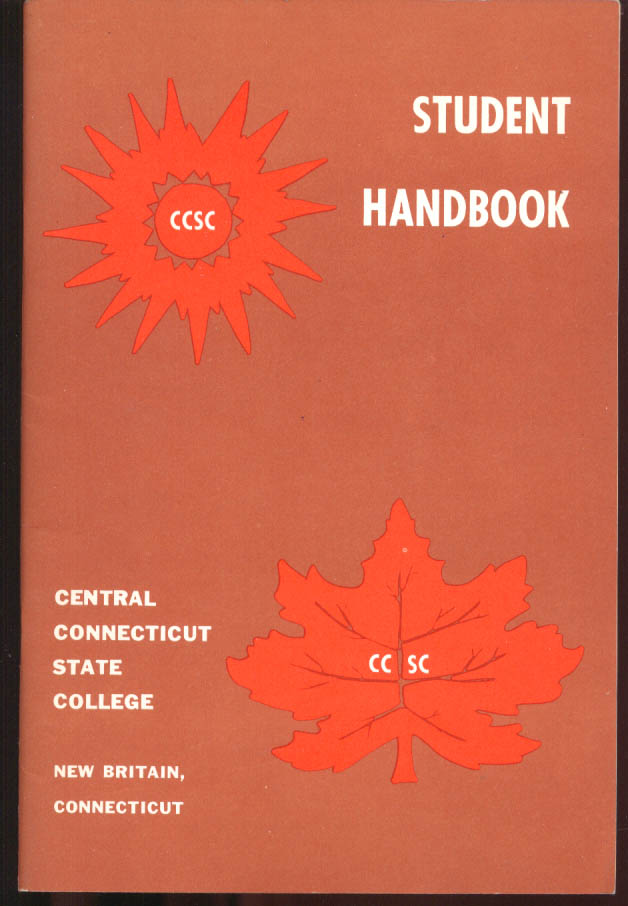 Central Connecticut State College Student Handbook 1972-1973