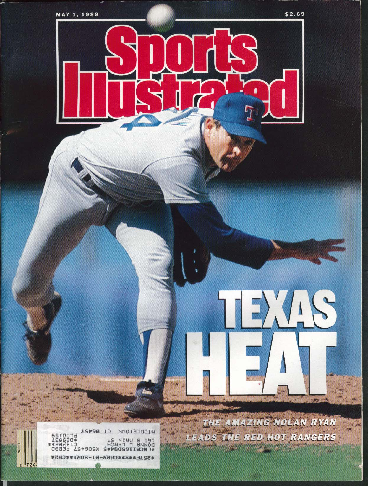 SPORTS ILLUSTRATED Nolan Ryan Julio Franco Natalia Zvereva Mark