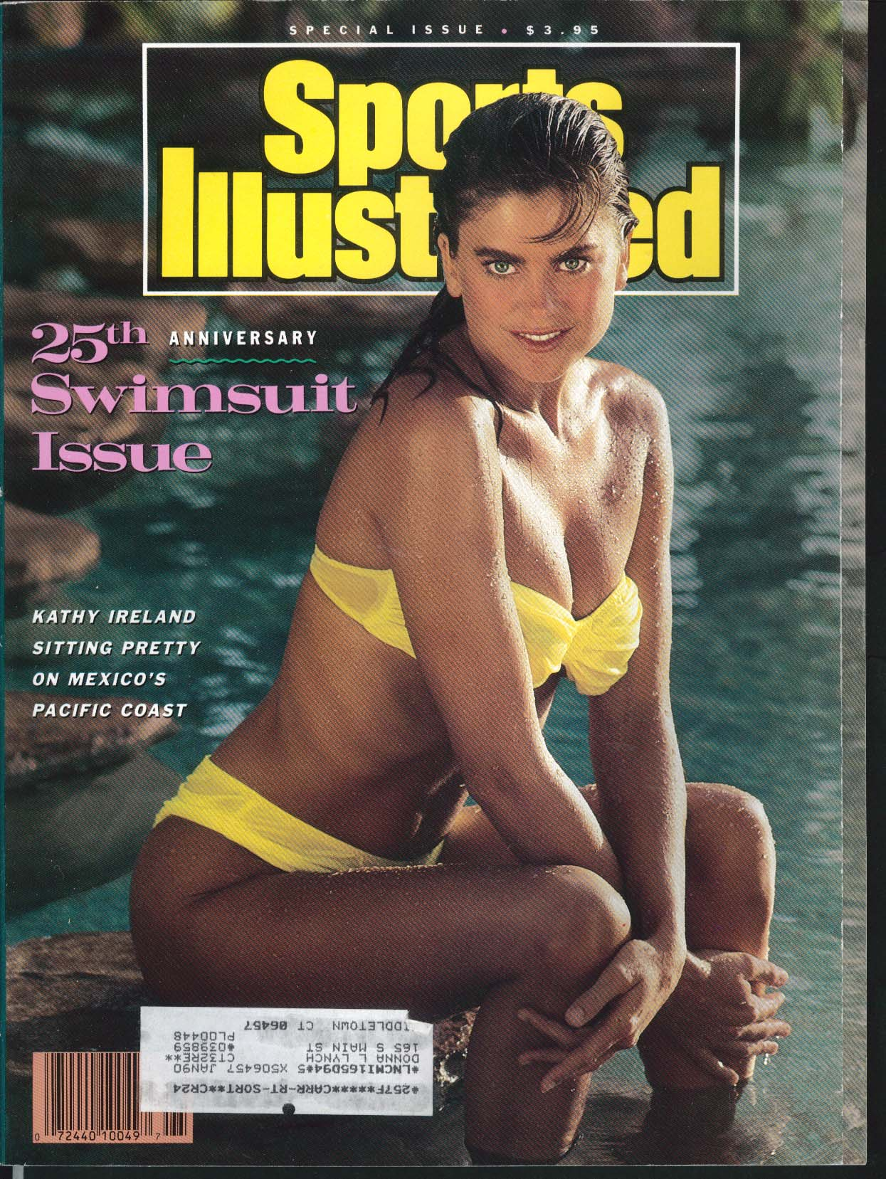 SPORTS ILLUSTRATED Kathy Ireland Cheryl Tiegs Christie Brinkley swimsuit 1989