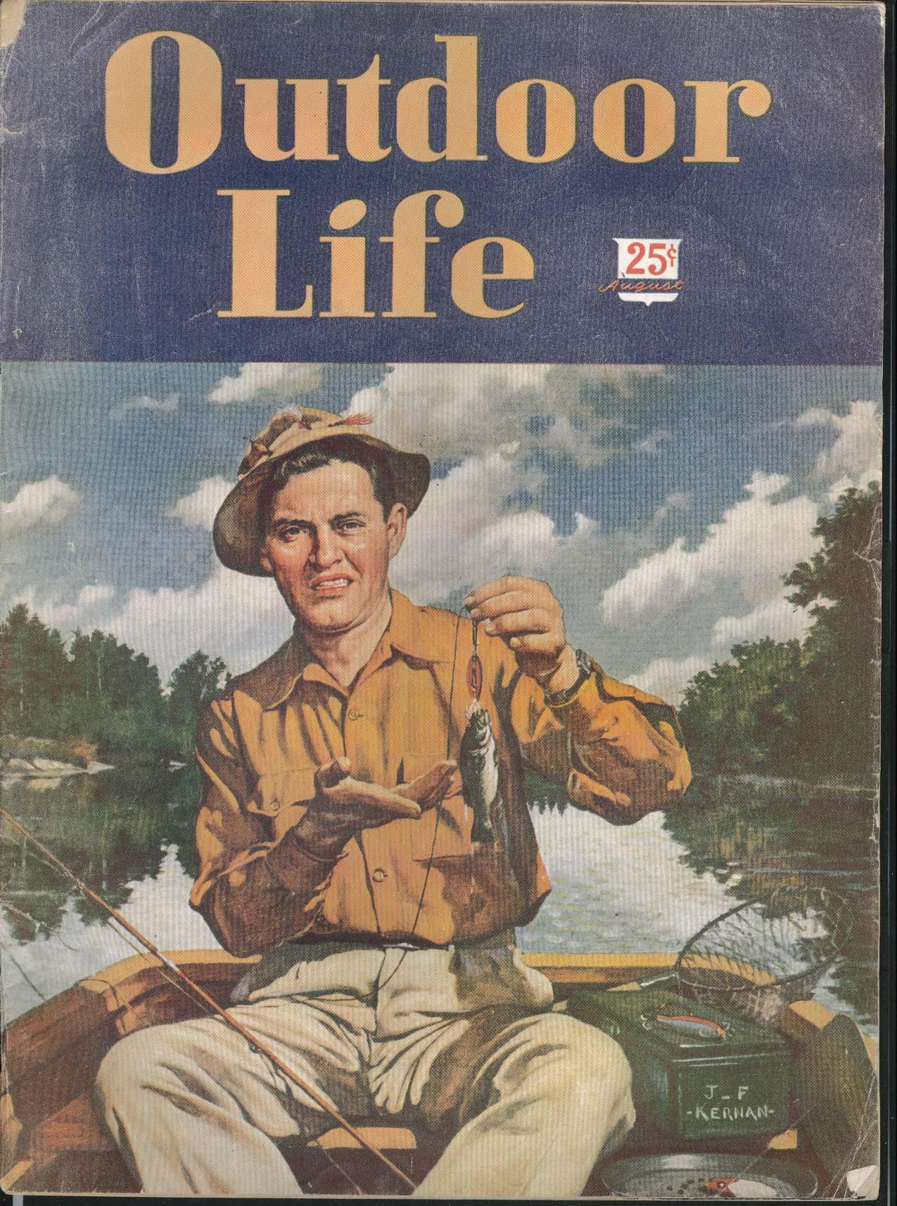 OUTDOOR LIFE Squaretails Broadbills New Brunswick Doe & Buck Bass Goats 8 1947