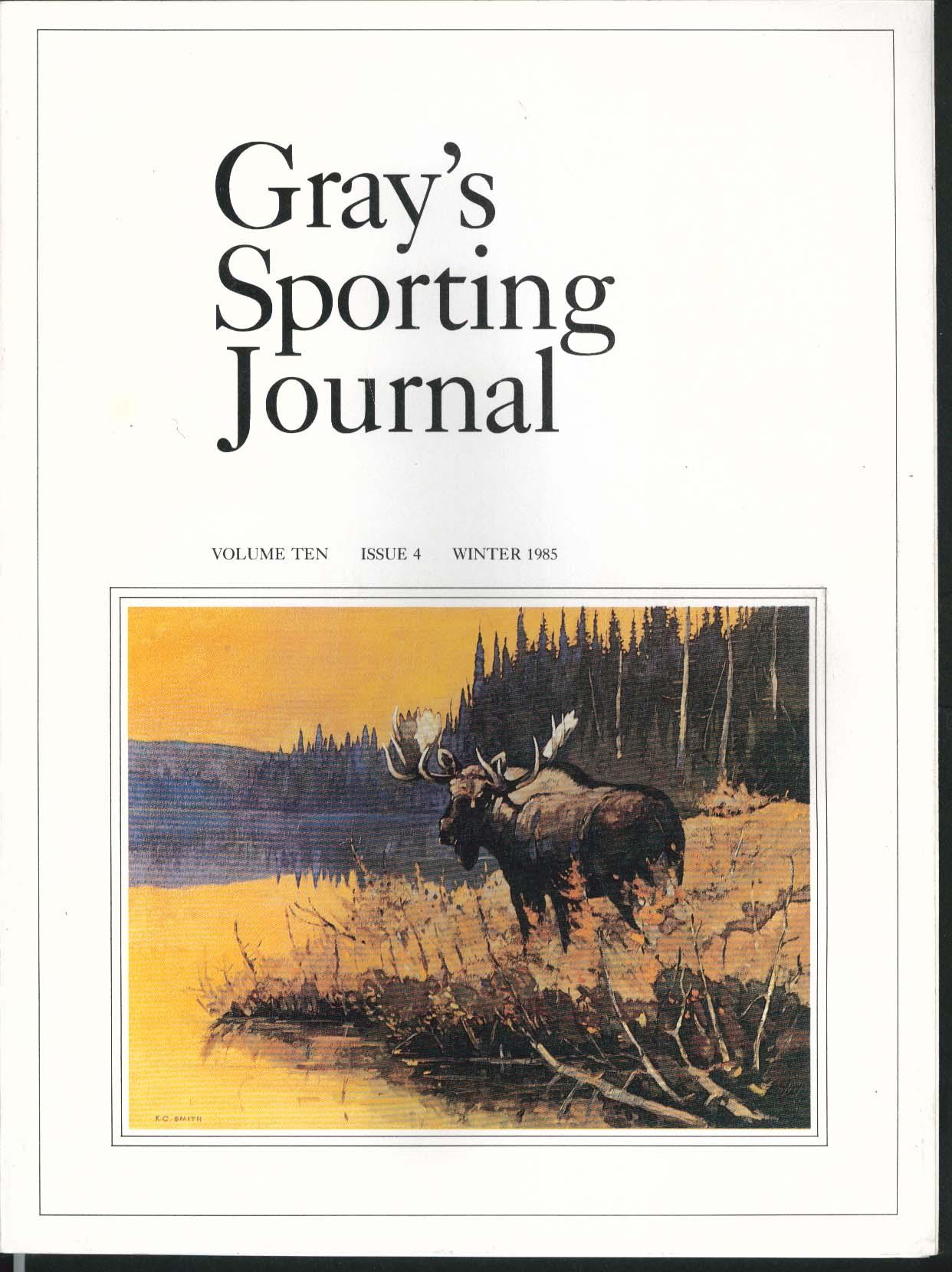 GRAY'S SPORTING JOURNAL Vol 10 #4 Witchfire H H Gordon Winter 1985