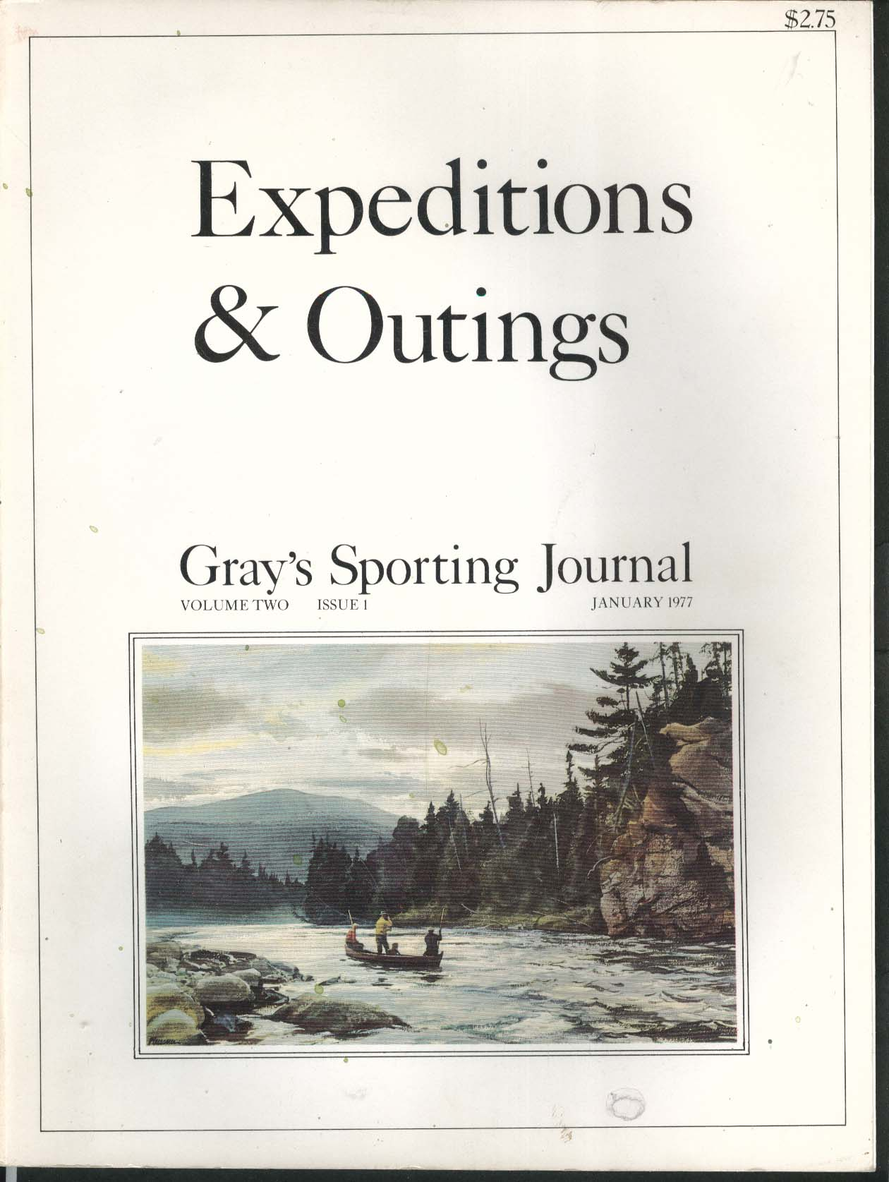 GRAY'S SPORTING JOURNAL Expeditions & Outings Bob Bryan Jacob's Strut 1 1977