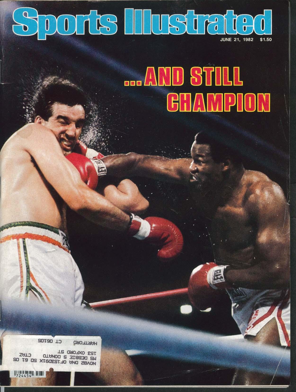 SPORTS ILLUSTRATED Larry Holmes Gerry Cooney Kareem Abdul Jabbar 7/21 1982