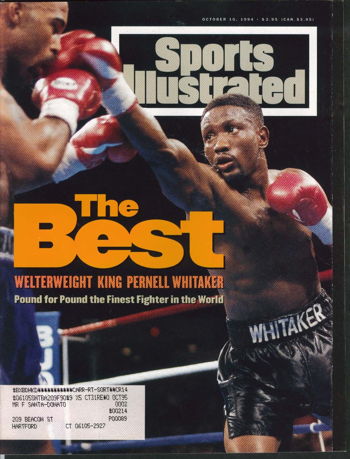 SPORTS ILLUSTRATED Pernell Whitaker Larry Johnson Buddy Ryan 10/10 1994