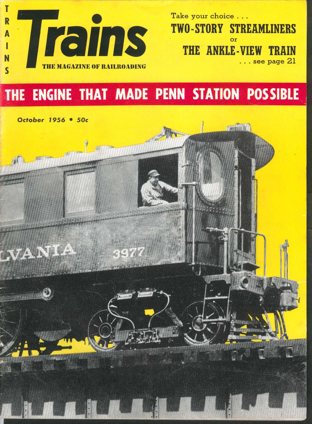TRAINS Brazil railroads Penn Station DD1 Manhattan Transfer Robert Hale 10 1956