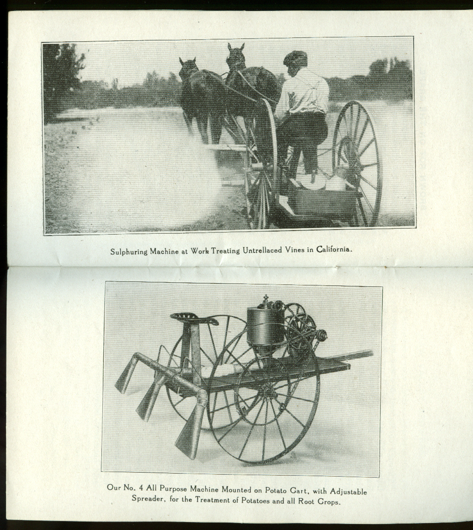 Dust Sprayer Mfg Right Methods for Successful Fruit Growing booklet ca 1910