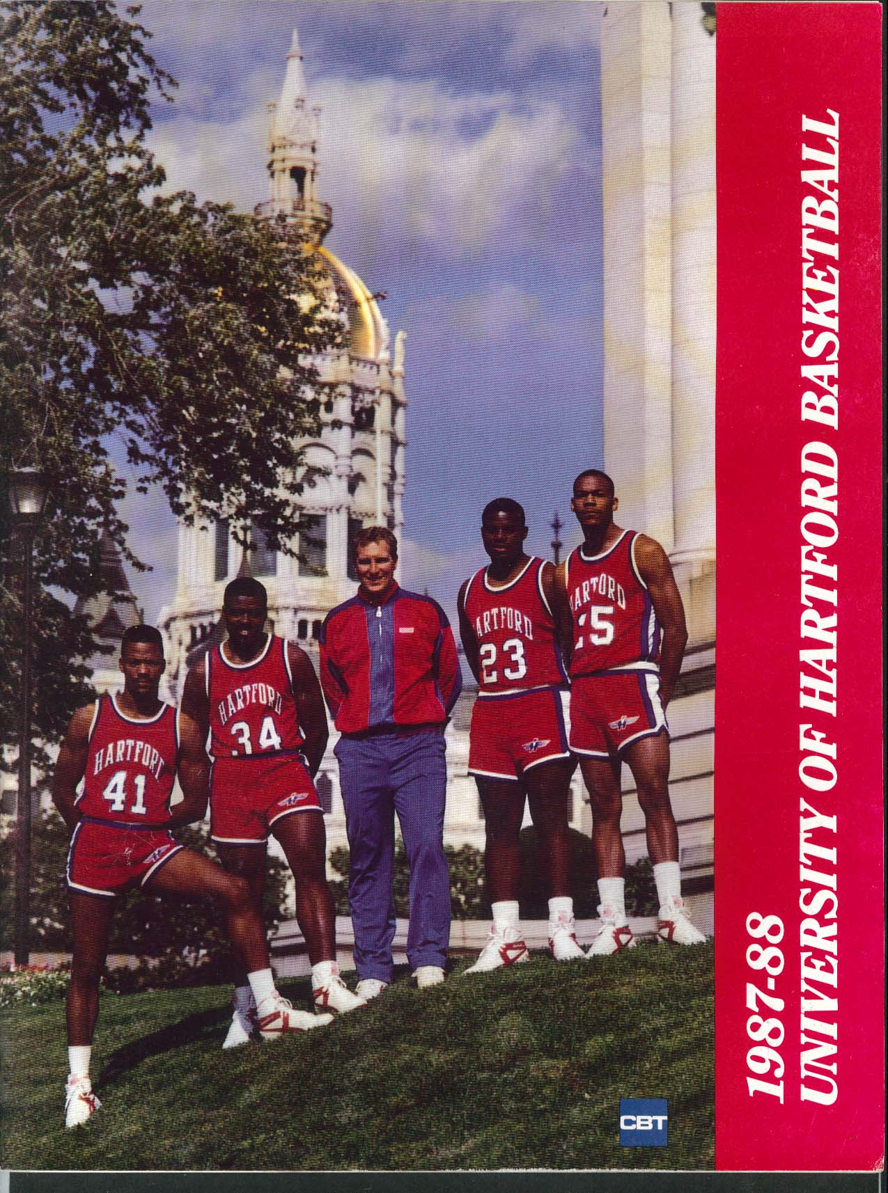 Image for University of Hartford Hawks Basketball Media Guide Yearbook 1987 1988