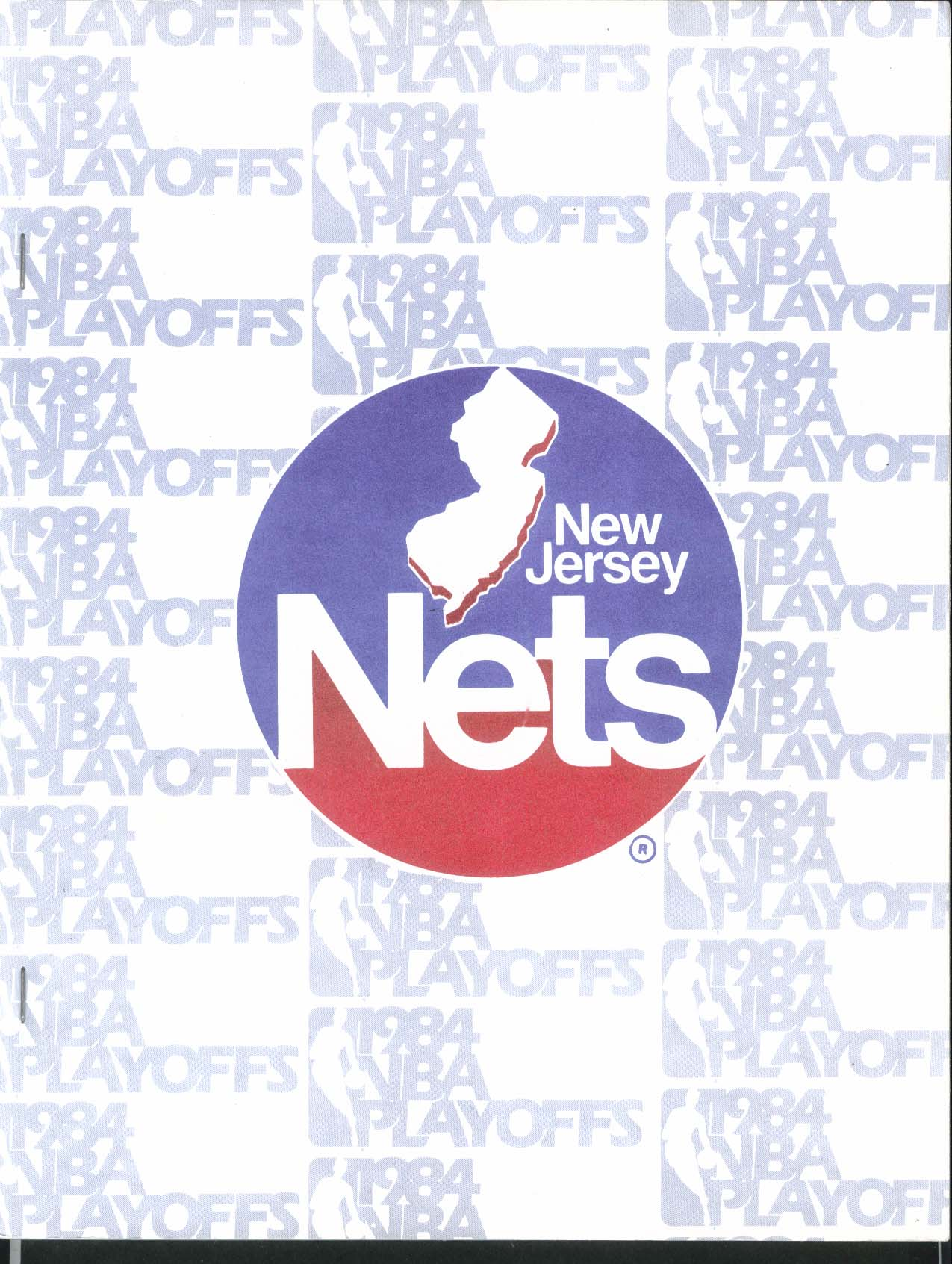 New Jersey Nets 1984 NBA Playoffs Media Guide