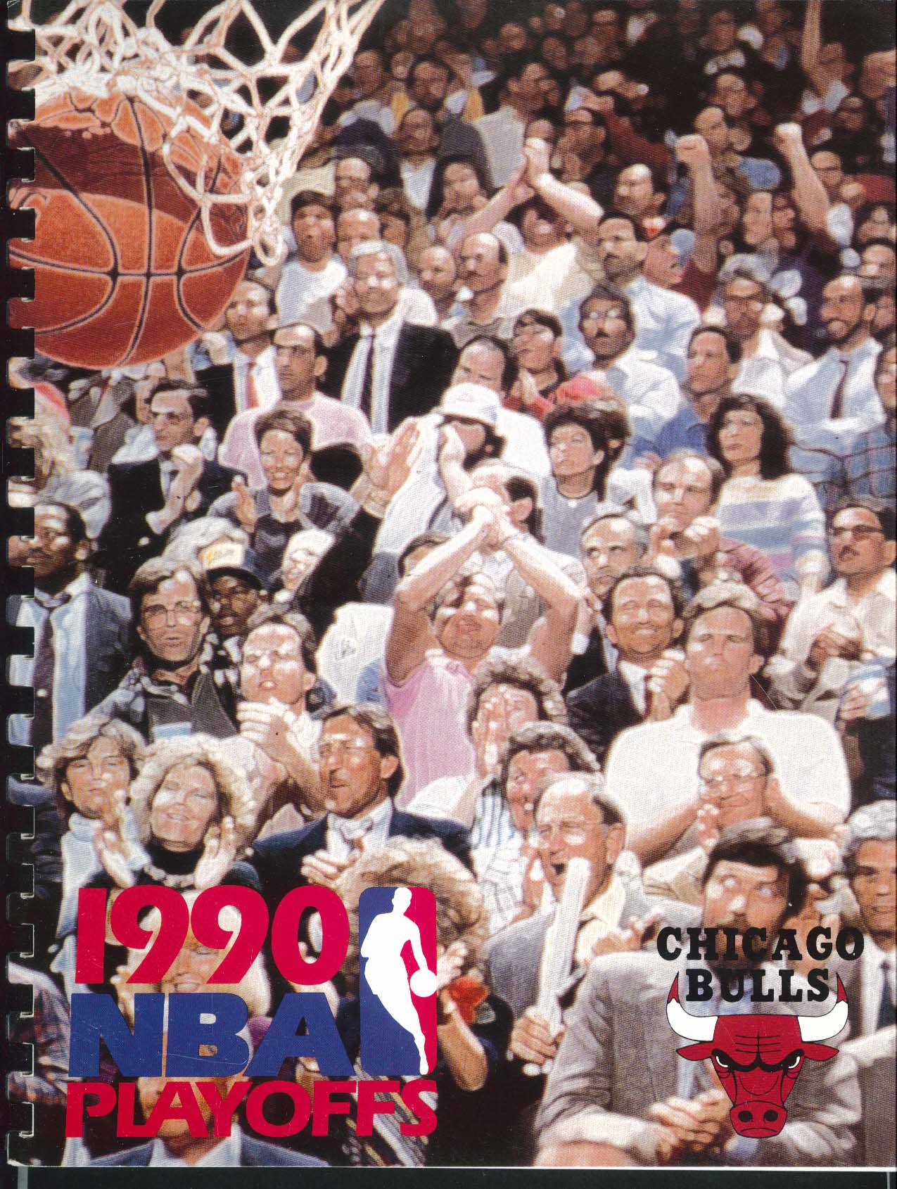 Image for 1990 NBA Playoffs Chicago Bulls Media Guide Book