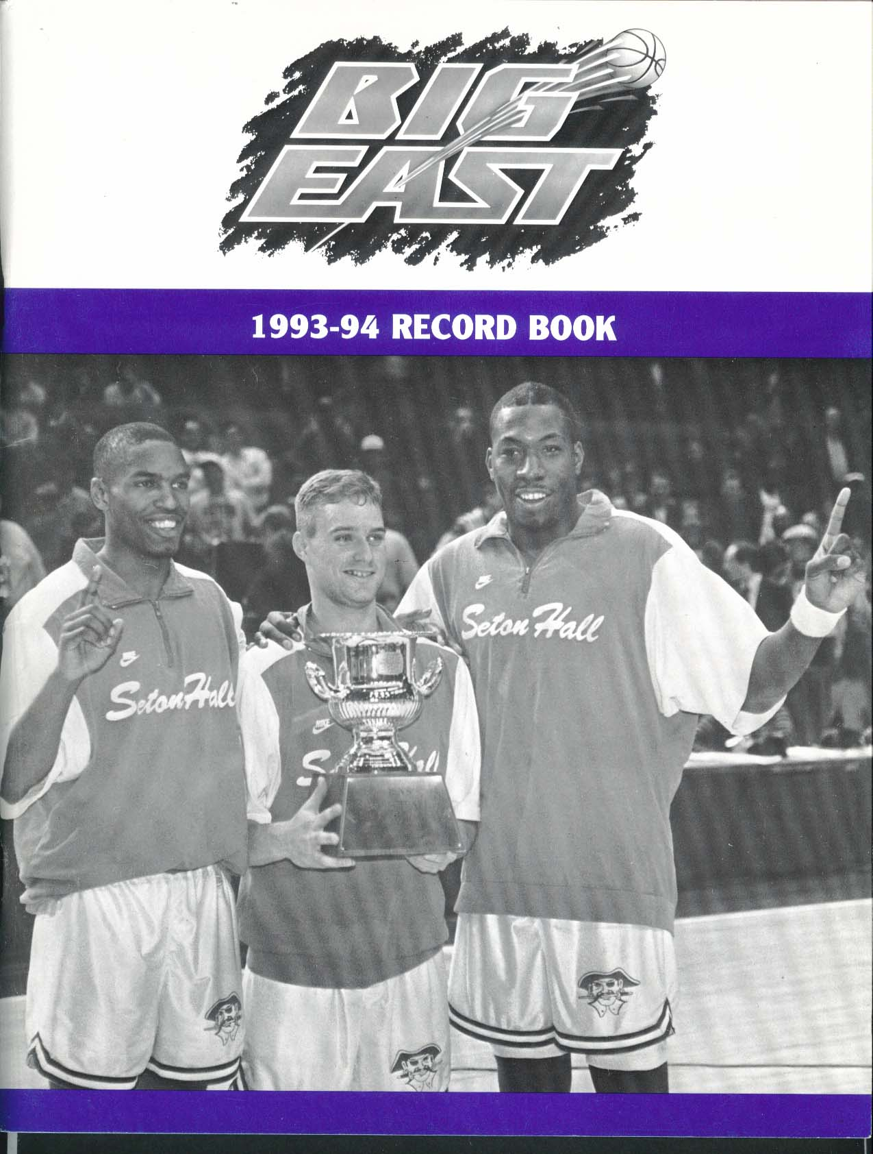 Big East 1993 1994 Record Book NCAA Men's Basketball