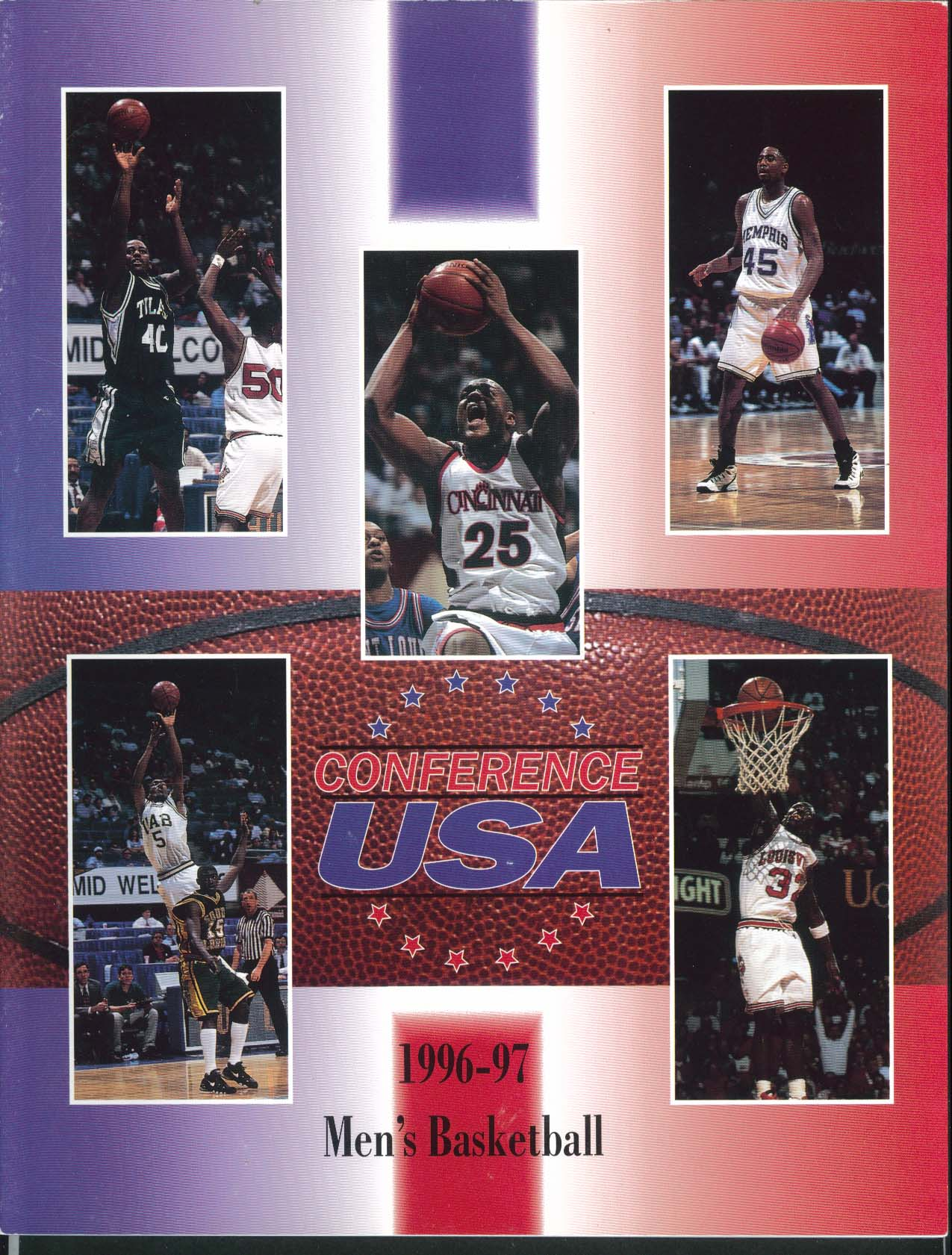 Image for Conference USA 1996 1997 Men's Basketball Media Guide/Yearbook