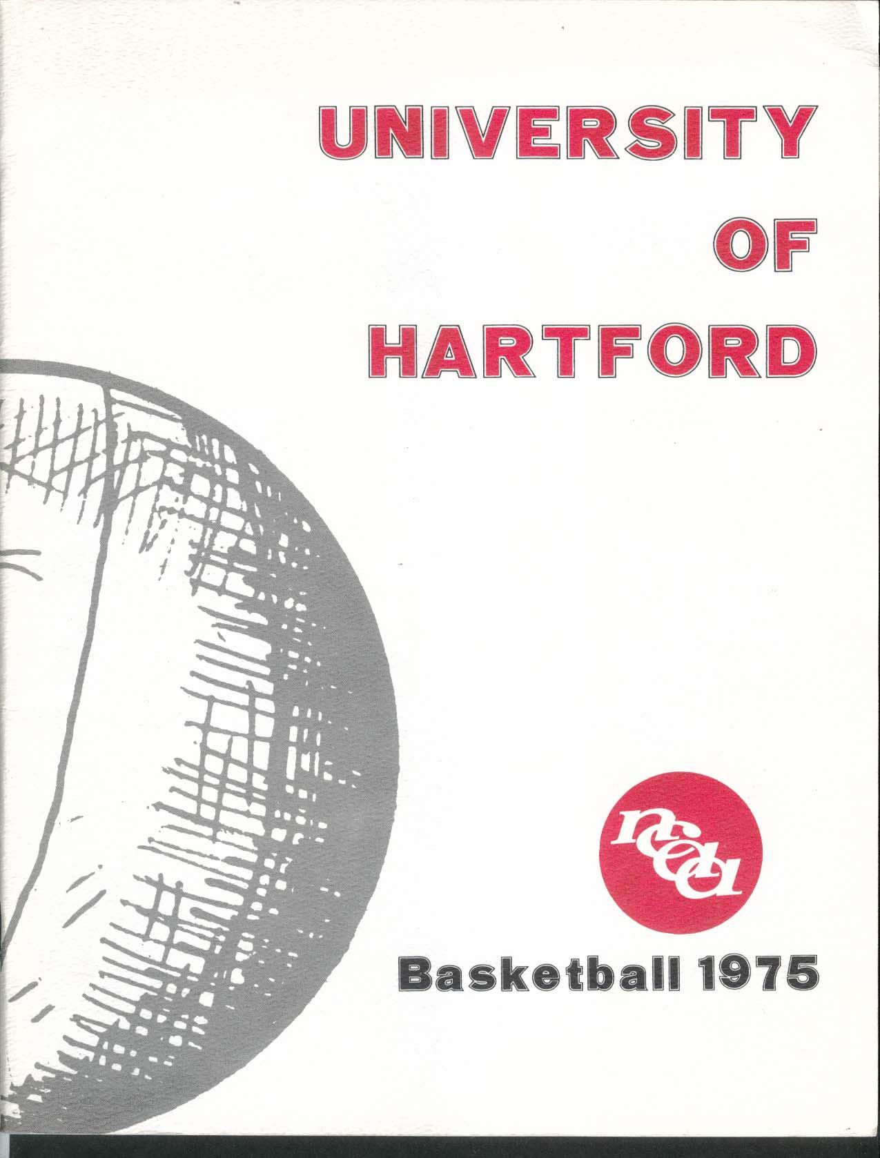 Image for University of Hartford NCAA Basketball Program 1975
