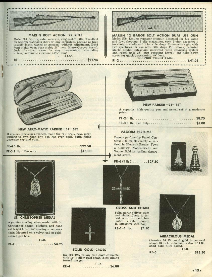 Cam Company Name Brands Wholesale Catalog ca 1953 Brooklyn NY