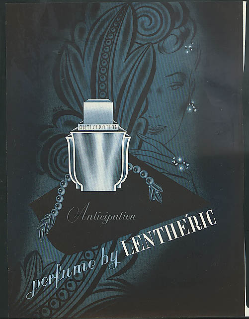 Anticipation Perfume by Lentheric ad 1941