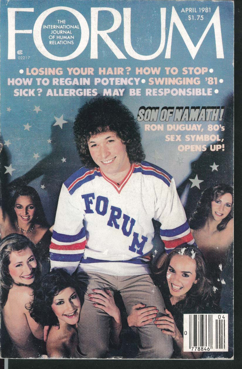 FORUM Ron Duguay, Dumb Blonde Myth, etc. 4 1981