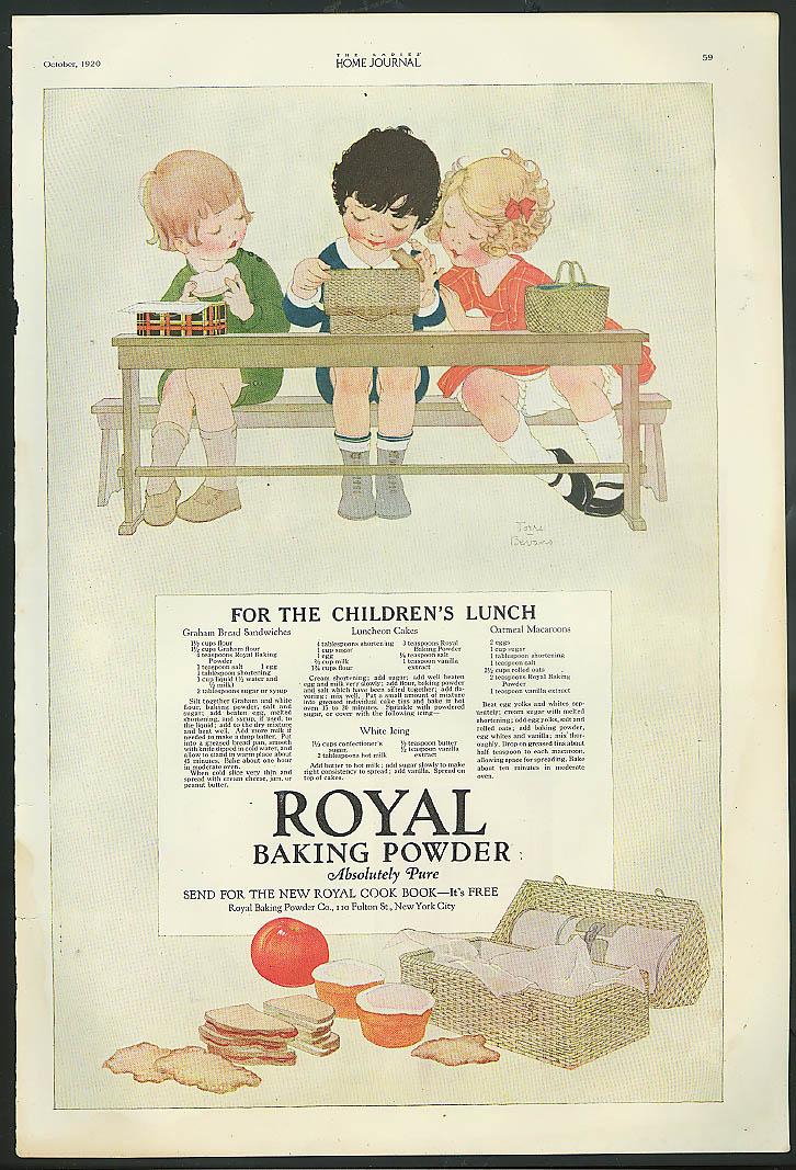 1910-19 1914 Royal Baking Powder Advertisement