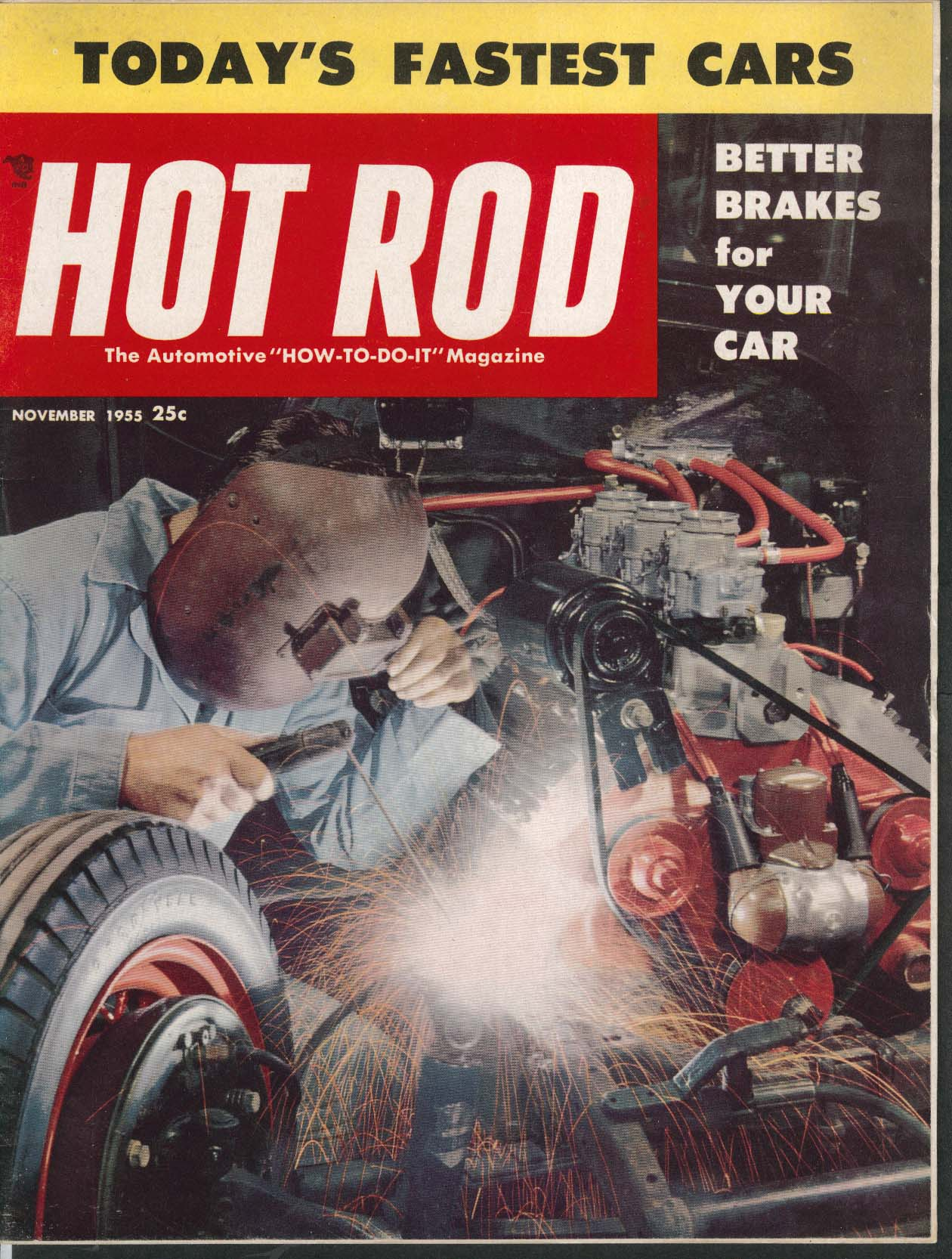 HOT ROD Bonneville Massachusetts Drag Racing North Florida Dragsters 11 1955