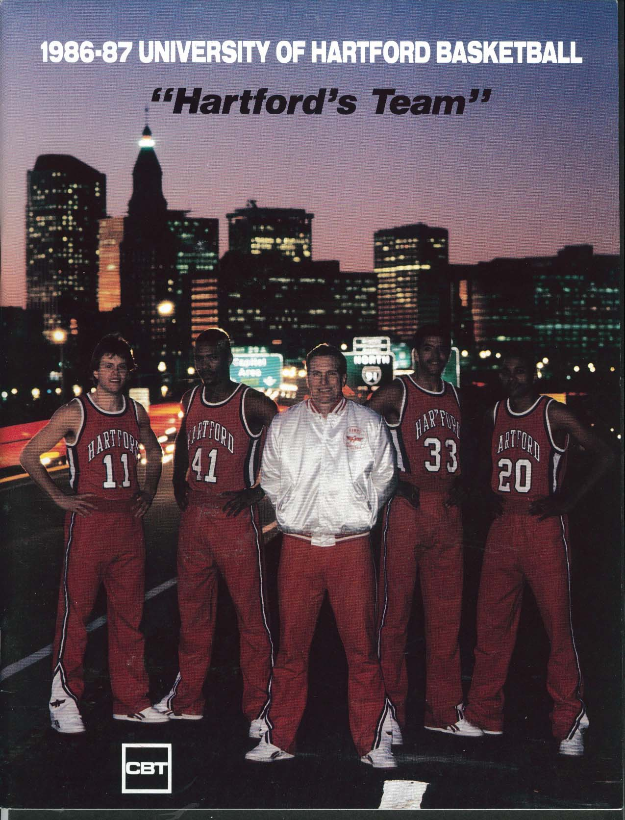 Image for University of Hartford Basketball Media Guide Yearbook 1986 1987