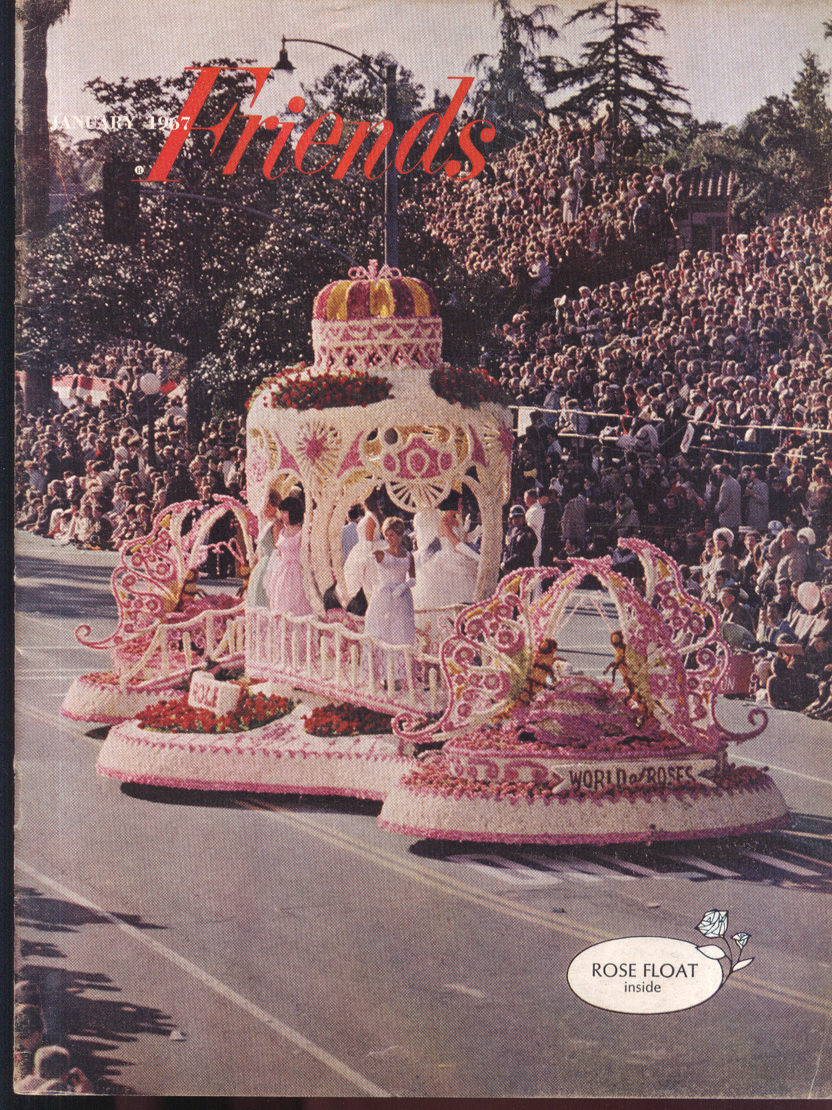 CHEVROLET FRIENDS William Henry Jackson Rose Parade Amputee Skiers 1 1967