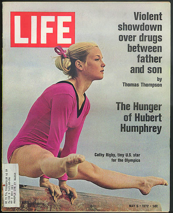 LIFE Cathy Rigby Hubert Humphrey Thomas Thompson Rudolf Bing Don Lowers 5/5 1972