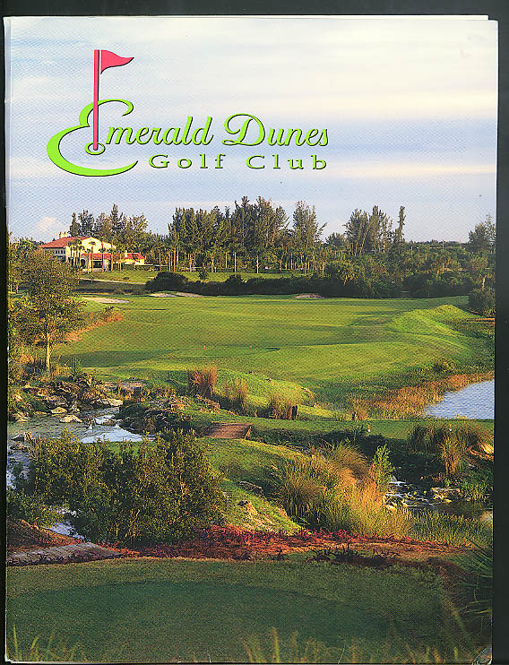Emerald Dunes Golf Club 2005 Membership Information Folder