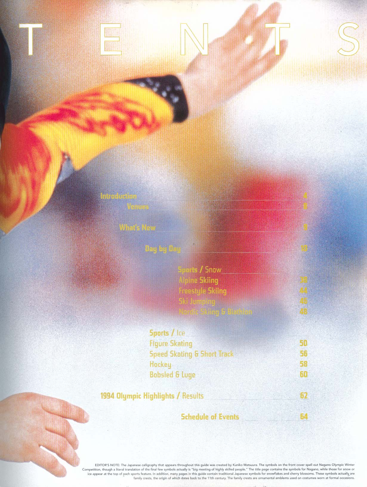 Image for Nagano 1998 Olympic Winter Games Official CBS Viewer's Guide