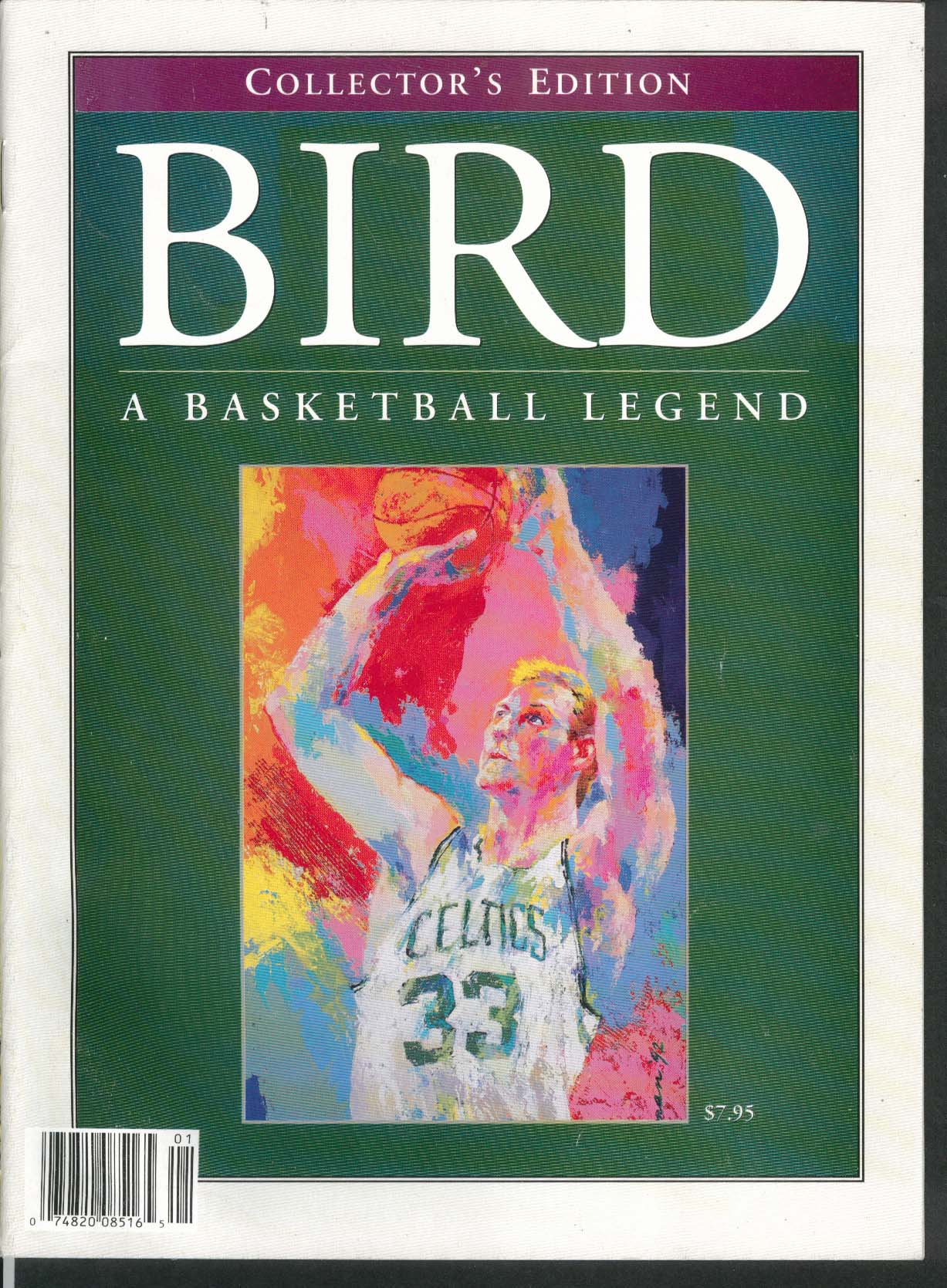 BIRD: A Basketball Legend Collector's Edition Larry Bird