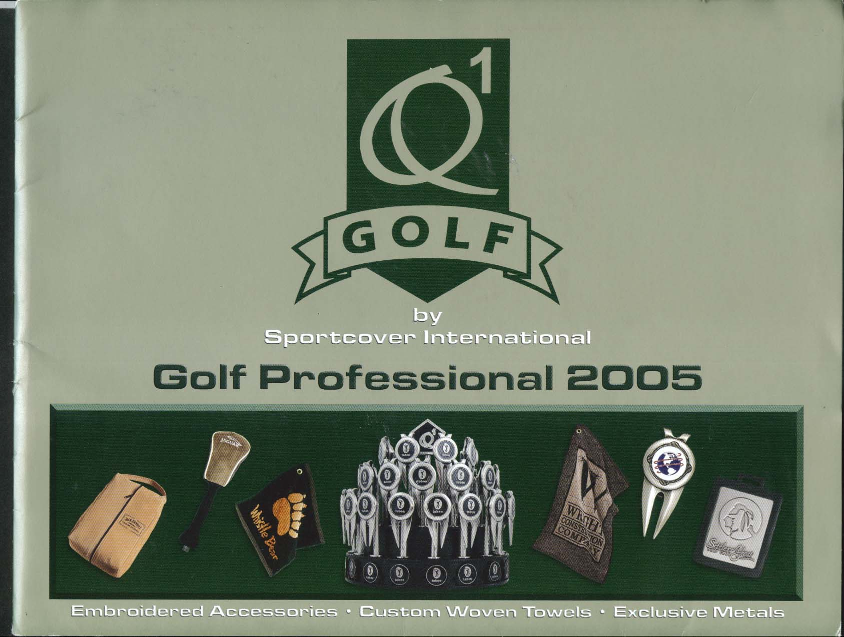 Golf by Sportcover International Golf Professional 2005 Catalog